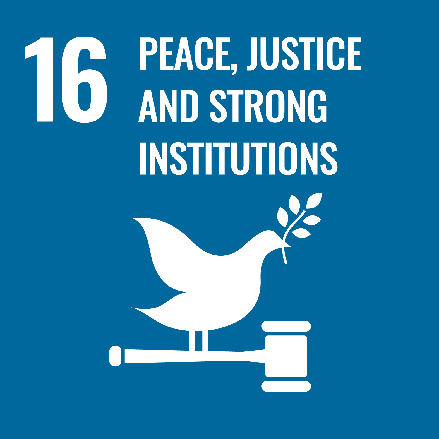 UN Sustainable Development Goal 16: Peace, Justice and Strong Institutions